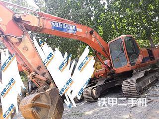 河南-郑州市二手斗山DH220LC-V挖掘机实拍照片