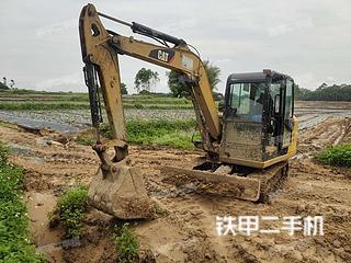 广西-贵港市二手卡特彼勒306E2挖掘机实拍照片