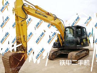 贵州-贵阳市二手住友SH130-6挖掘机实拍照片