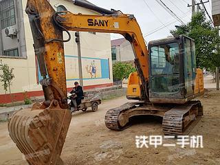 江苏-连云港市二手三一重工SY75C-9挖掘机实拍照片