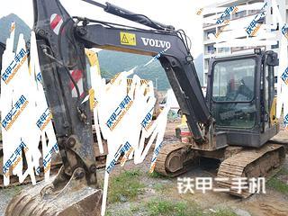 贵州-贵阳市二手沃尔沃EC55D挖掘机实拍照片