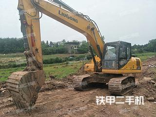 四川-成都市二手柳工CLG920E挖掘机实拍照片