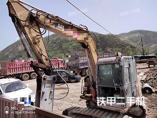 宁夏-石嘴山市二手卡特彼勒307E液压挖掘机实拍照片