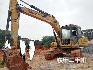 广西-玉林市二手三一重工SY135C挖掘机实拍照片