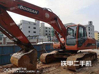 浙江-丽水市二手斗山DH220LC-V挖掘机实拍照片