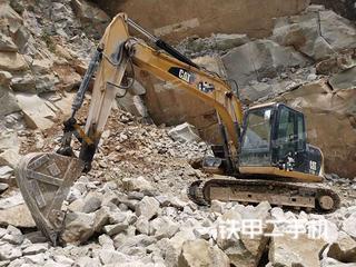 四川-达州市二手卡特彼勒312D2GC挖掘机实拍照片