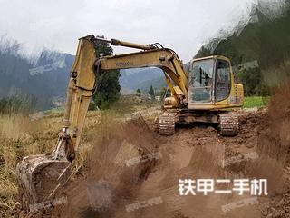 四川-达州市二手小松PC120-6挖掘机实拍照片