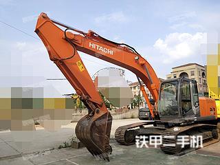 日立ZX200LC-3挖掘機實拍圖片