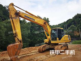 广东-河源市二手小松PC200-7挖掘机实拍照片