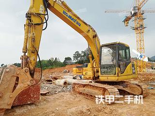 湖南-长沙市二手小松PC130-7挖掘机实拍照片