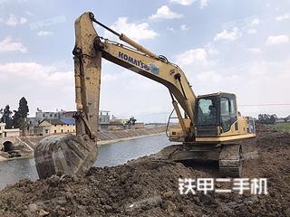 曲靖小松PC210LC-8挖掘機實拍圖片
