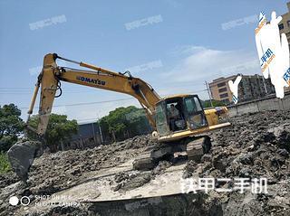 浙江-温州市二手小松PC200-7挖掘机实拍照片