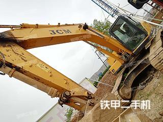 甘肃-平凉市二手山重建机JCM927D挖掘机实拍照片
