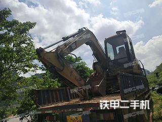 广西-百色市二手卡特彼勒307C挖掘机实拍照片