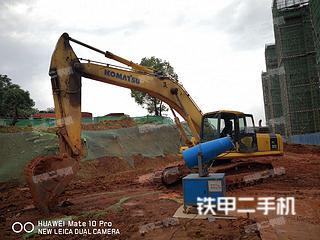 湖南-长沙市二手小松PC360-7挖掘机实拍照片