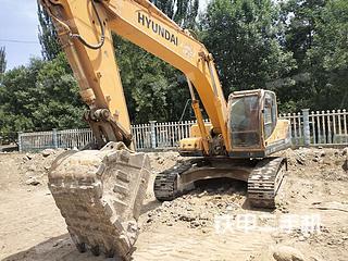 宁夏-石嘴山市二手现代R275LC-9T挖掘机实拍照片