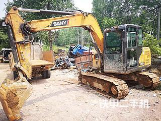 江西-上饶市二手三一重工SY75C-9挖掘机实拍照片
