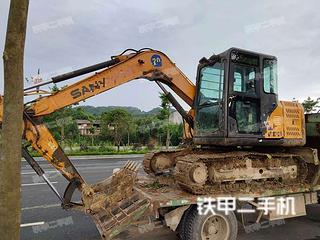 广西-河池市二手三一重工SY75C-9挖掘机实拍照片