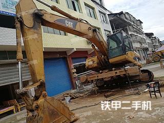 四川-广安市二手卡特彼勒320DLRR挖掘机实拍照片