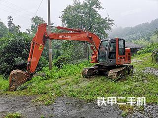 湖南-怀化市二手日立ZX135US挖掘机实拍照片