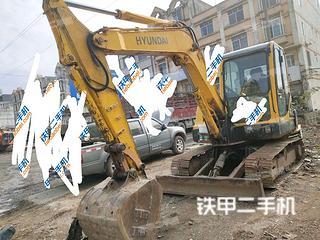 广西-百色市二手现代R60-7挖掘机实拍照片