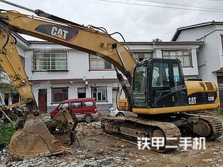 贵州-贵阳市二手卡特彼勒320D液压挖掘机实拍照片
