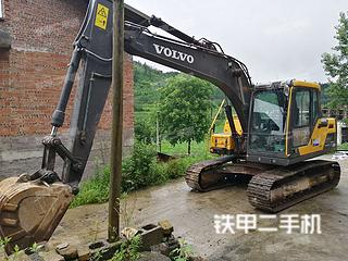 四川-泸州市二手沃尔沃EC120D挖掘机实拍照片