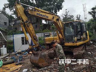 四川-内江市二手小松PC110-7挖掘机实拍照片