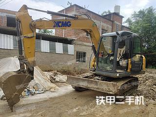 广西-贵港市二手徐工XE75D挖掘机实拍照片