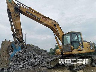 湖南-永州市二手小松PC200-8挖掘机实拍照片