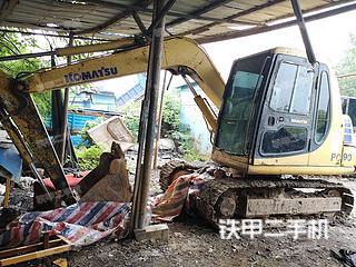 安徽-马鞍山市二手小松PC60-7挖掘机实拍照片