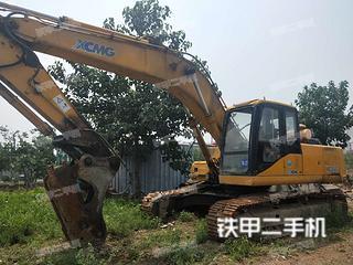 陕西-西安市二手徐工XE260C挖掘机实拍照片
