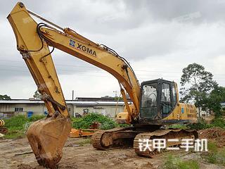 广西-玉林市二手厦工XG822LC挖掘机实拍照片