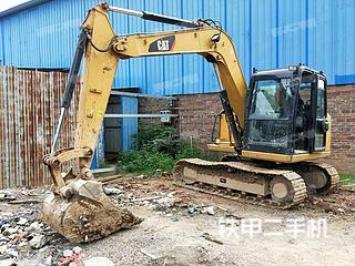 广西-南宁市二手卡特彼勒307E液压挖掘机实拍照片