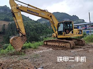 贵州-贵阳市二手小松PC210LC-8挖掘机实拍照片