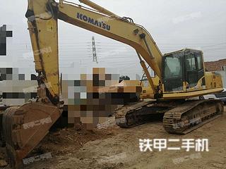 河南-郑州市二手小松PC210LC-8挖掘机实拍照片