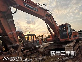 浙江-丽水市二手斗山DH420LC-7挖掘机实拍照片