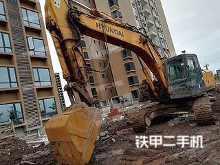 四川-广安市二手现代R265LC-7挖掘机实拍照片