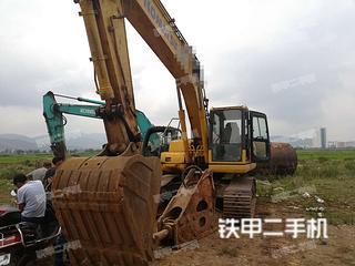曲靖小松PC220-8M0挖掘機實拍圖片