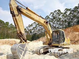 广西-玉林市二手小松PC200-6挖掘机实拍照片