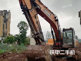 四川-广安市二手三一重工SY265C挖掘机实拍照片