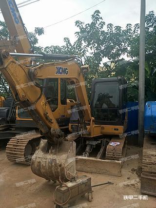 广西-南宁市二手徐工XE60D挖掘机实拍照片