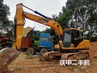 湖南-长沙市二手三一重工SY135-8S挖掘机实拍照片