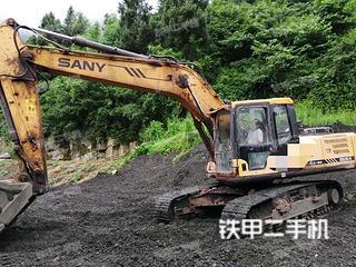 四川-泸州市二手三一重工SY215C挖掘机实拍照片