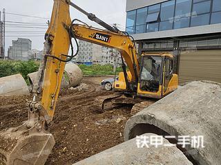 广西-贵港市二手三一重工SY135C-8挖掘机实拍照片