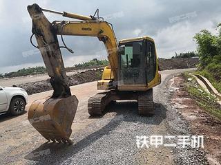 四川-自贡市二手小松PC60-7挖掘机实拍照片