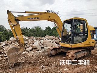 湖南-长沙市二手小松PC60-7挖掘机实拍照片