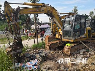 卡特重工CT85-7B挖掘机实拍图片