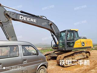 约翰迪尔E210LC挖掘机实拍图片