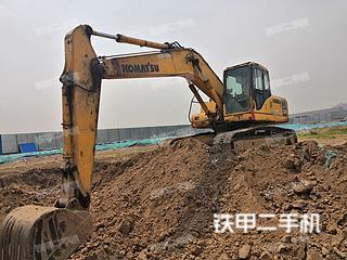 河南-郑州市二手小松PC200-7挖掘机实拍照片
